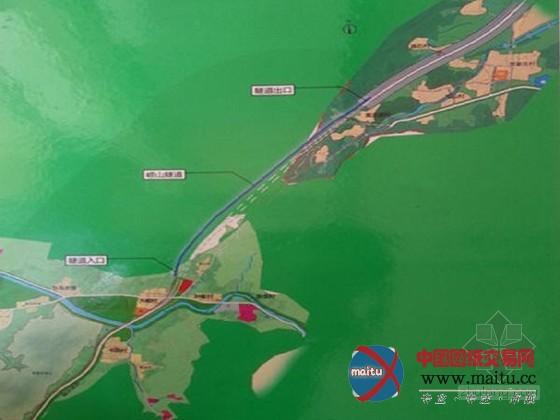 青岛规划全长4580米蓝色硅谷崂山隧道-路桥市政-中国