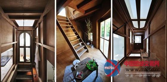日本爱知县粮仓住宅 设计感十足-室内设计-中国图纸